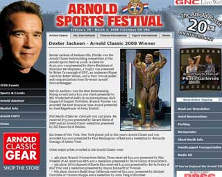 Arnold Classic 2008
